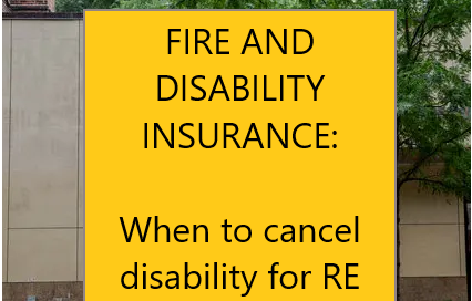 cancel disability insurance in early retirement