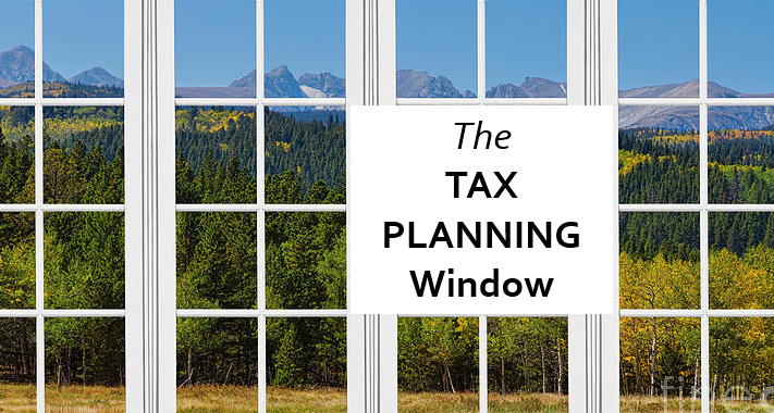 tax planning window for retirement