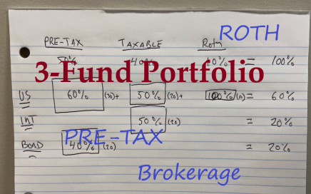 Visualize the 3-Fund Portfolio Across the Taxable Account Types