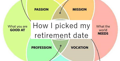 how I picked my retirement date
