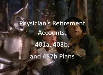 Physician Retirement Accounts