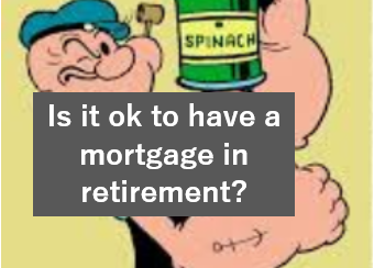 is it ok to have a mortgage in retirement?