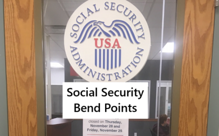 What are social security bend points?